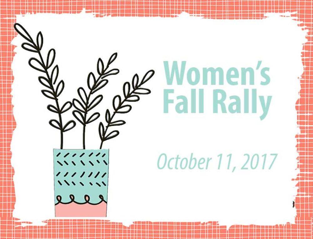Women's Fall Rally