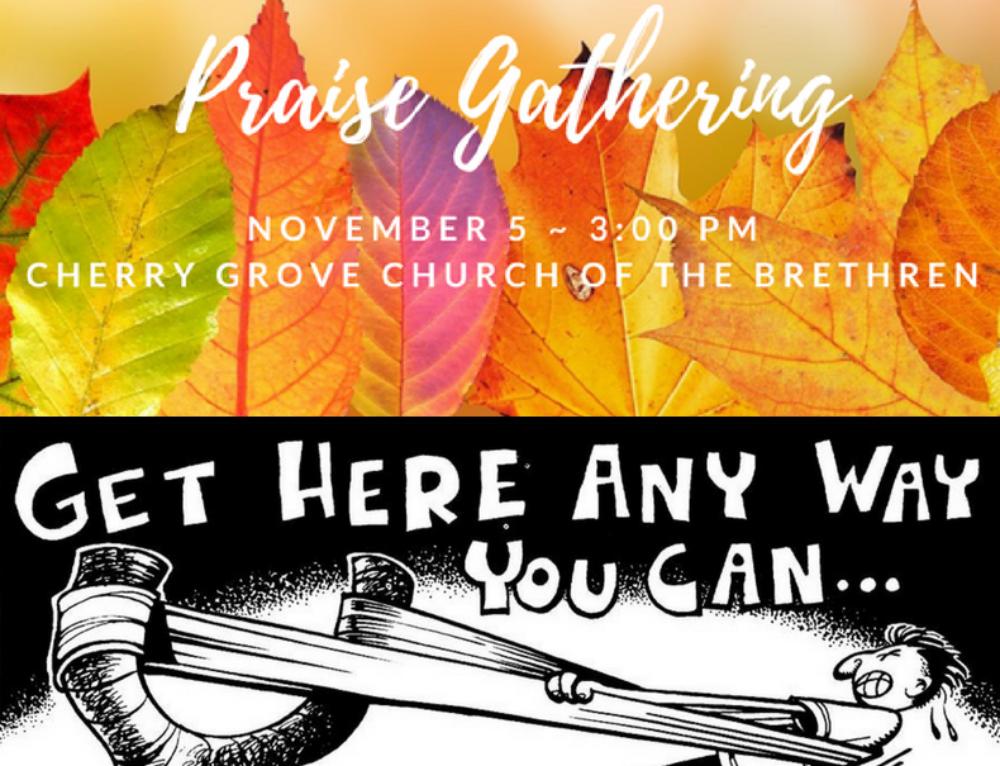 Praise Gathering at Cherry Grove